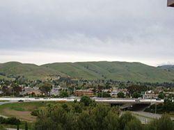 City of Milpitas, California的天际线