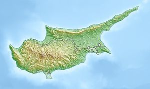 Dali is located in Cyprus