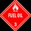 Class 3: Fuel Oil (Alternate Placard)