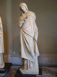 浦狄喀提亚的雕塑形象