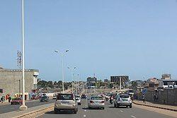 Skyline of Lomé