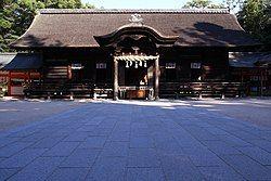 大山祇神社拜殿