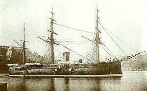 Japanese ironclad Fusō.jpg