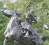 Statue of Sybil Ludington