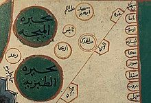 A detailed map of Palestine from the 10th century