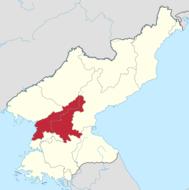 平安南道的位置图