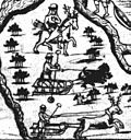 A drawing from the Remezov Chronicle