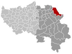 Raeren Liège Belgium Map.png
