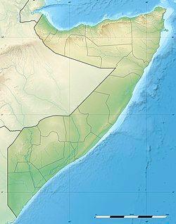 摩加迪沙在Somalia的位置