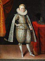 Prince Władysław, aged about 10, ca. 1605