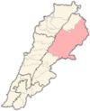 Lebanon districts Baalbek.png