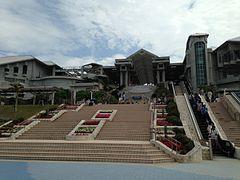 Okinawa Churaumi Aquarium from west 2.JPG