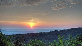 View from Monte Sano Mountain