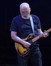 David Gilmour performing in 2015