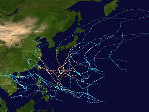 2005 Pacific typhoon season summary map.png