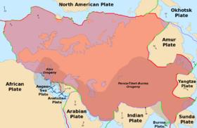 欧亚大陆板块