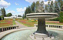 The European Duncan Garden in Manito Park and Botanical Gardens