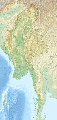 Hpakant jade mine is located in Myanmar