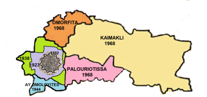 Extensions to the Nicosia municipal area