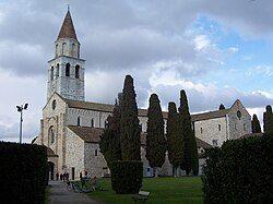 The Basilica of Aquileia.