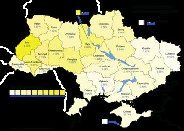 Yulia Tymoshenko February 7, 2010, results (45.48%)