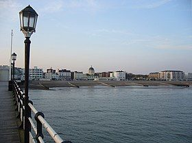 Worthing seafront from Worthing Pier