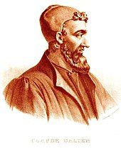 Face and shoulder portrait of a man