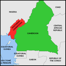 Map of the Federal Republic of Ambazonia (claimed).png