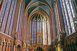 沙特尔主教座堂中厅拱顶