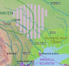 The territories of the Bolohoveni.