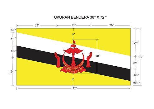 文莱国旗格式