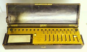 Arithmometr computing machine