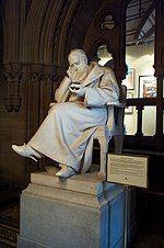 曼彻斯特市政厅内的焦耳塑像