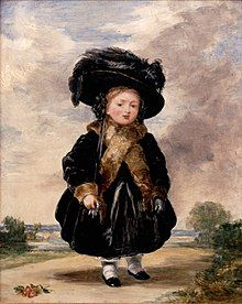 Portrait of Victoria at age 4