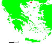 Location of 萨索斯岛