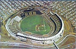 San Francisco's Candlestick Park in the 1960s