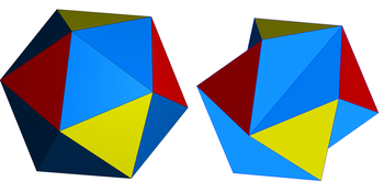 Jessen icosahedron with snub icosahedron.png