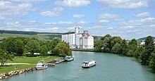 River Marne at Dormans