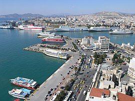 View of Mikrolimano, Piraeus