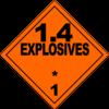 Class 1.4: Explosives