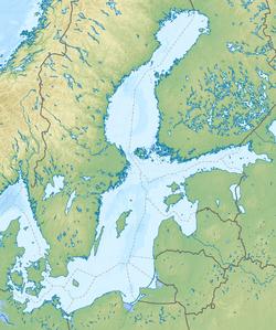 Königsberg is located in Baltic Sea