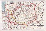 Map of Belarusian People's Republic (1918)
