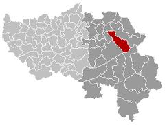 Baelen Liège Belgium Map.png