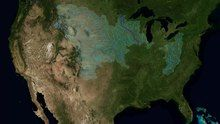 File:The Rivers of the Mississippi Watershed.webm