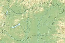 摩哈赤在匈牙利的位置