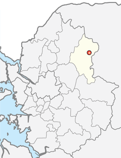 加平郡在京畿道的位置图