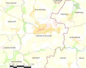 卡赖普卢盖市镇地图