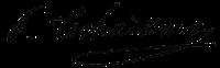 Tchaikovsky's signature