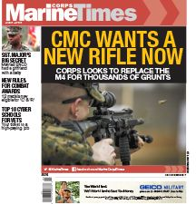 Marine Corps Times cover of issue dated April 10, 2017.jpg