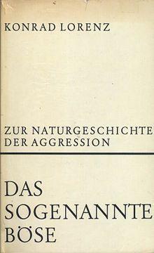 On Aggression, German first edition.jpg